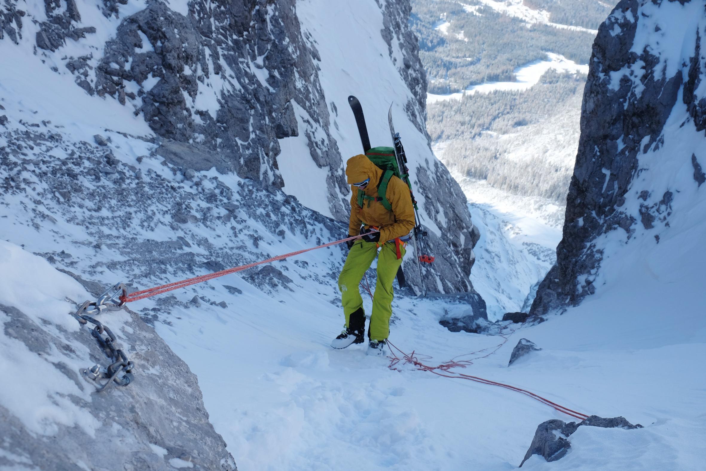 Klettergurt Skitour : Minimalistisch: sieben leichte gurte im test