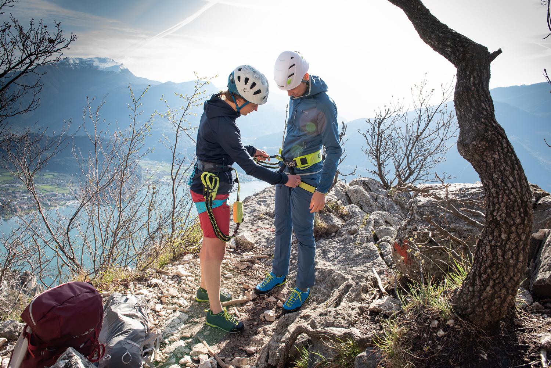 Klettergurt Mit Brustgurt : Der klettergurt