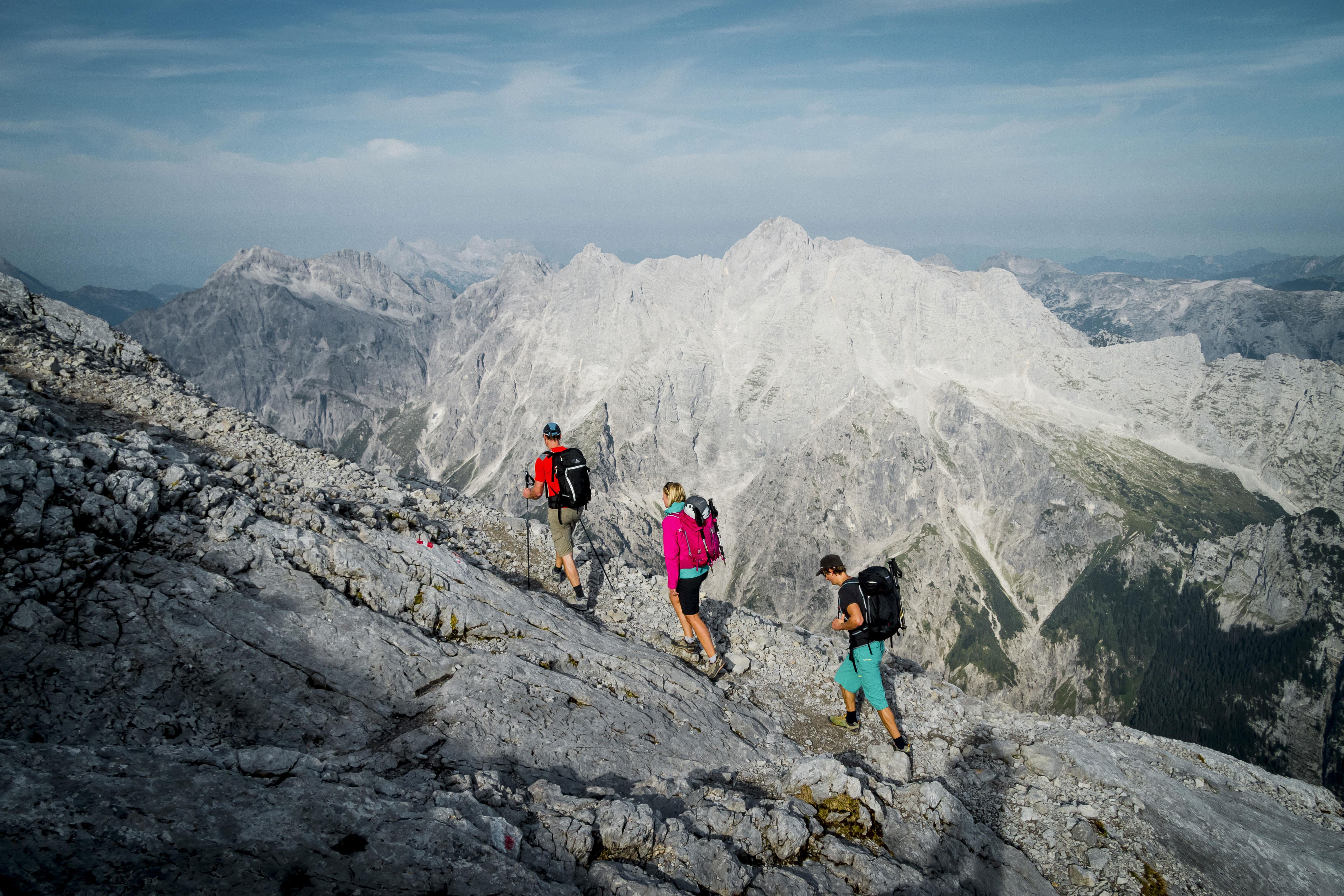 Klettersteigset Watzmann : Die watzmann Überschreitung