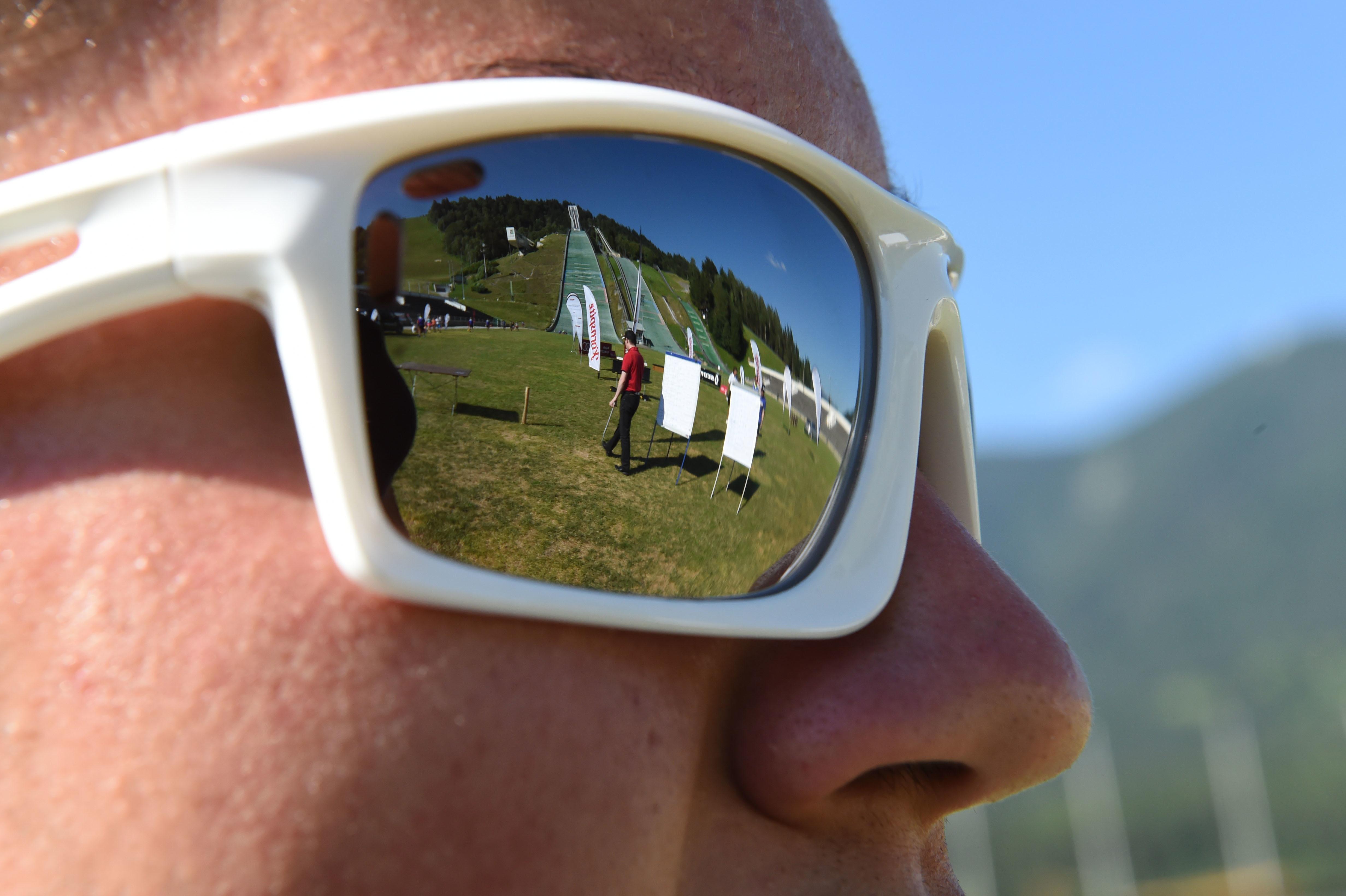 Julbo Extend Zebra Sonnenbrille Schwarz Gr/ö/ße S