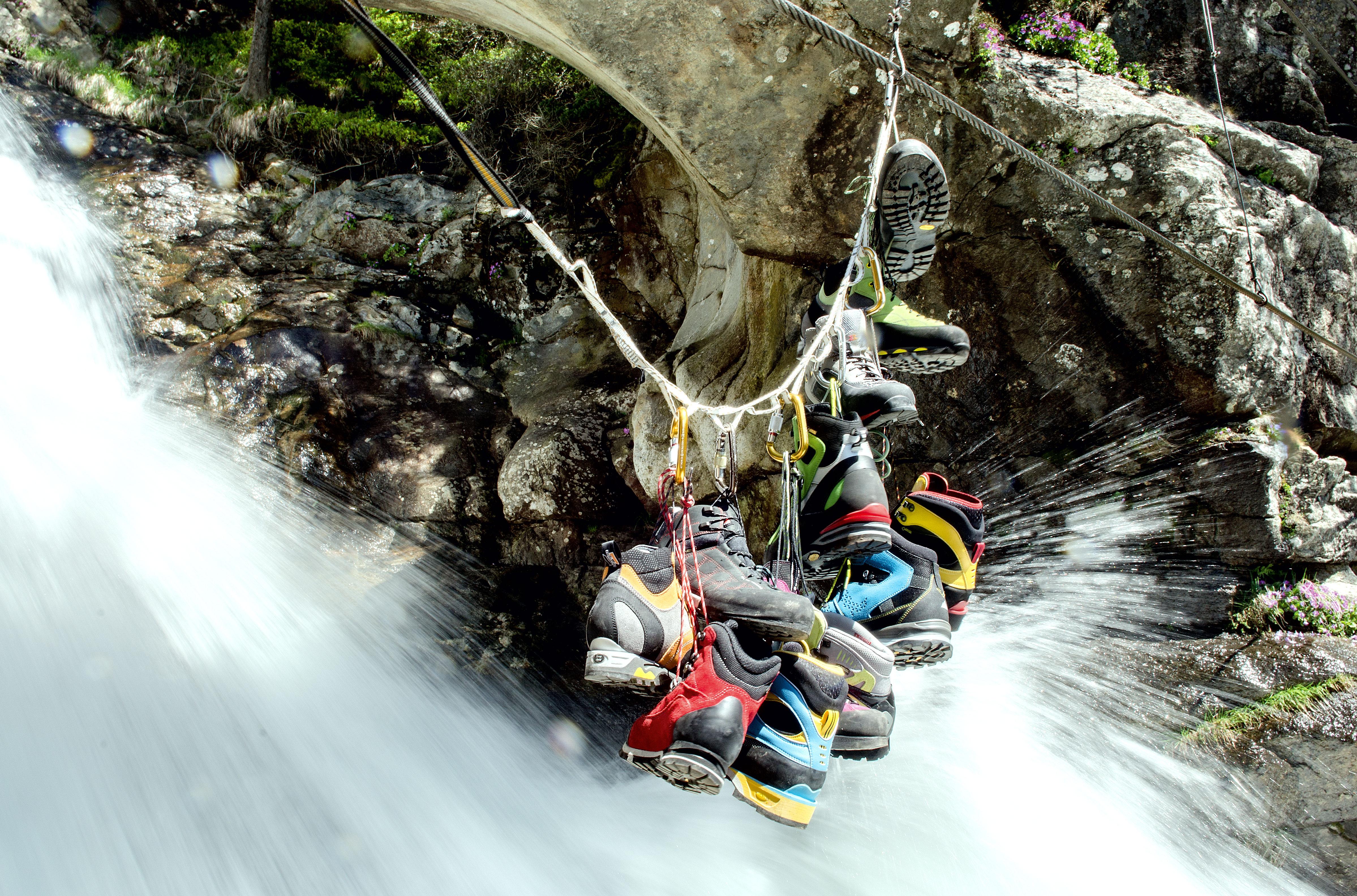 Klettersteigset Hydra : Klettersteigschuhe: 10 modelle im test