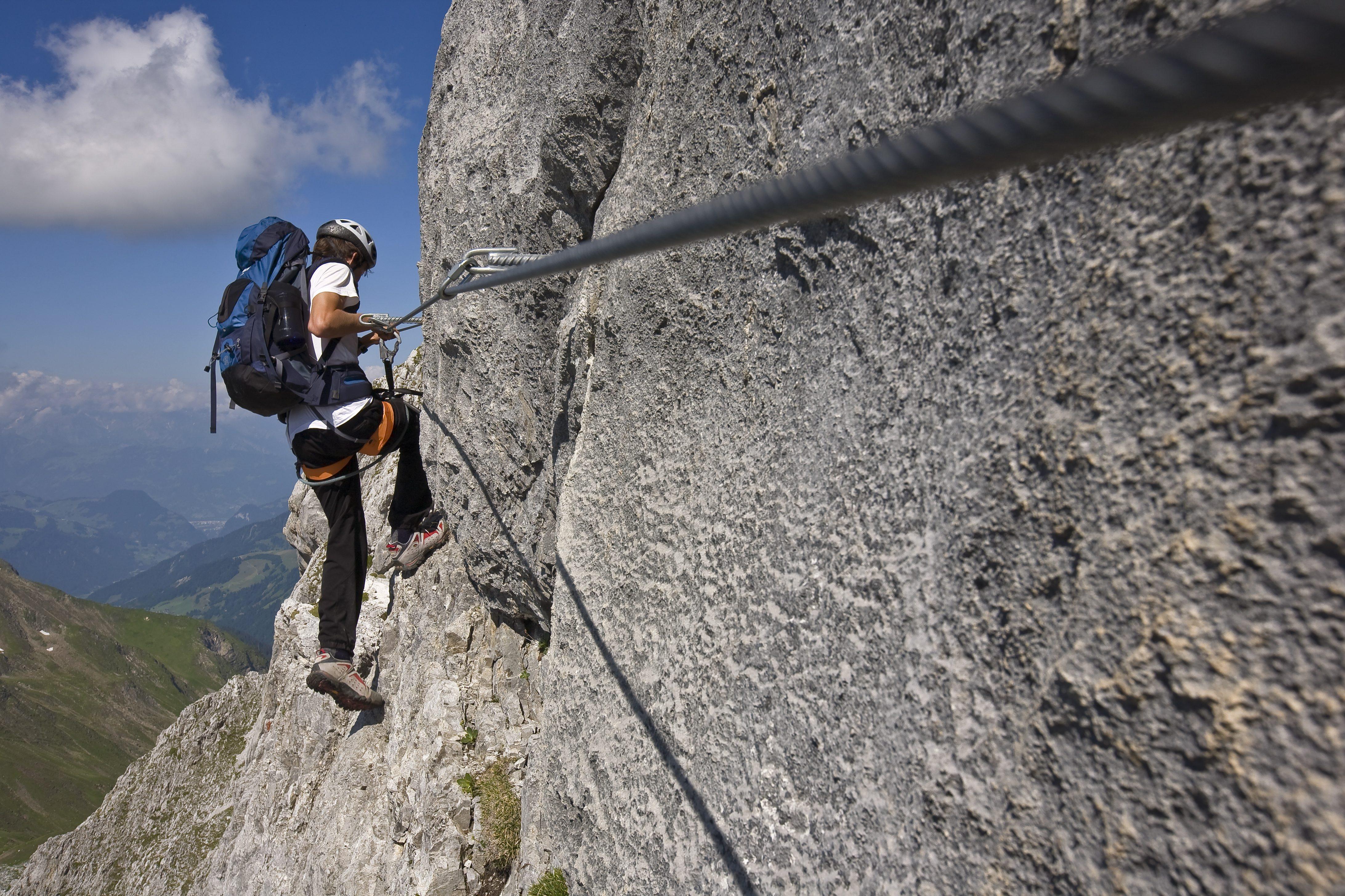 Klettersteig Bad Hindelang : Der iseler klettersteig im allgäu bergzeit tourentipp