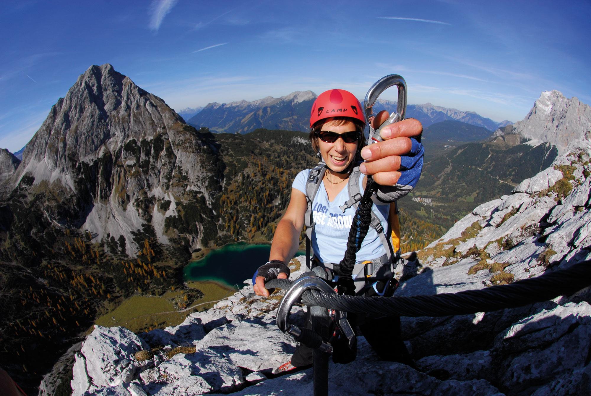 Klettersteigset Empfehlung : Das solltet ihr über klettersteigsets wissen