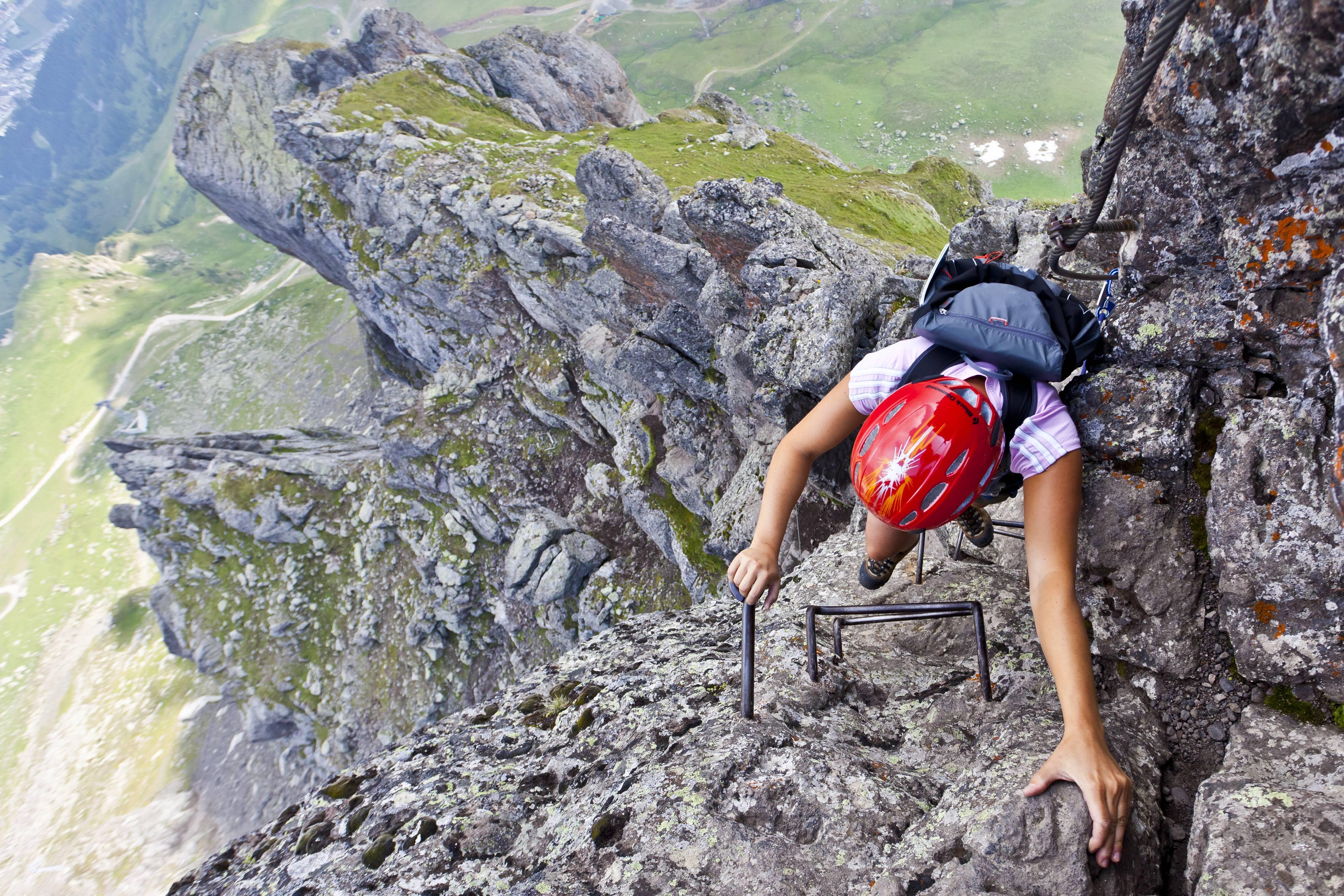 Pidinger Klettersteig : Der pidinger klettersteig ist wieder begehbar