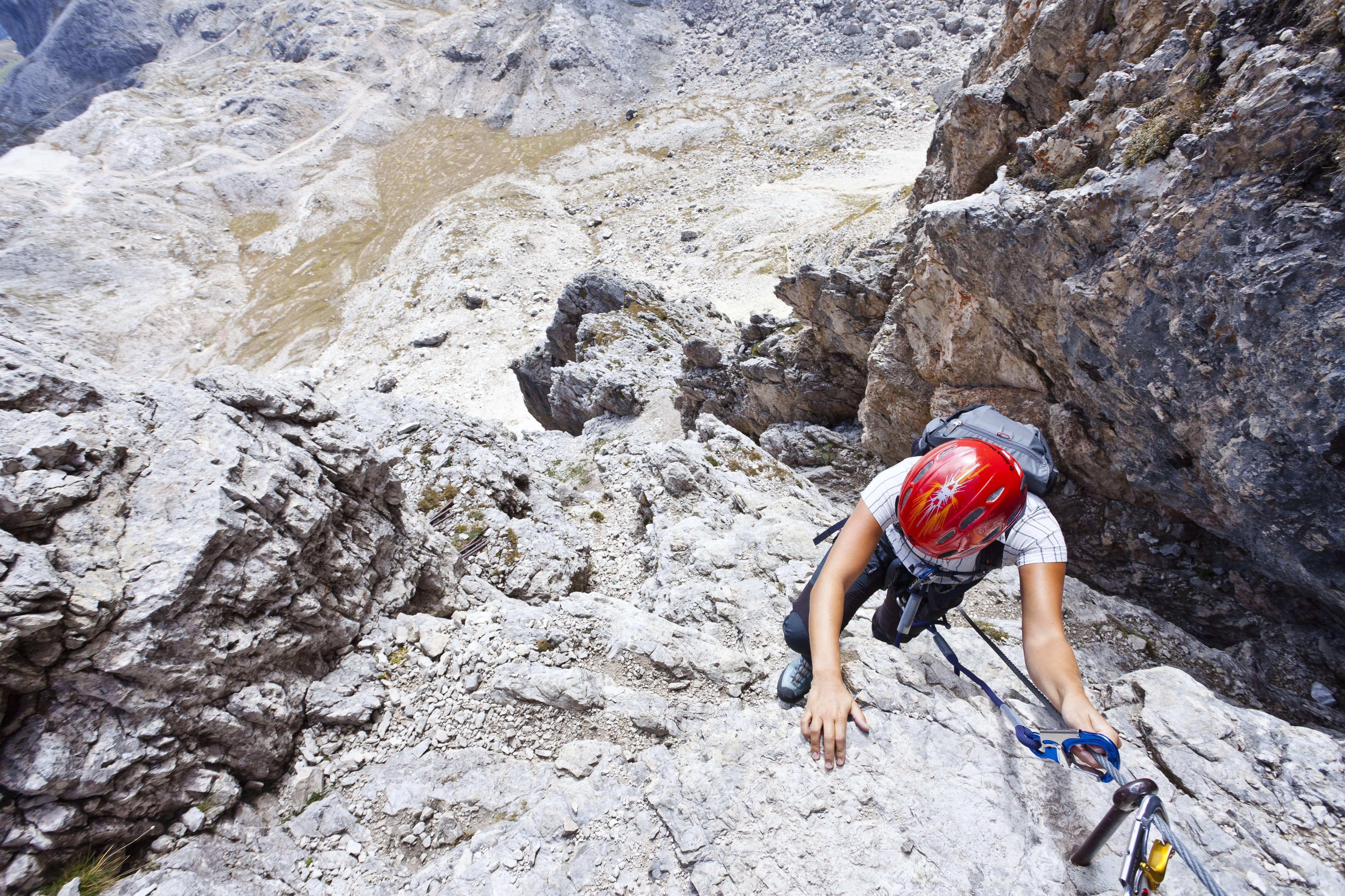 Klettersteigset Hydra : Climbhow ferrata: sicher auf klettersteigen unterwegs