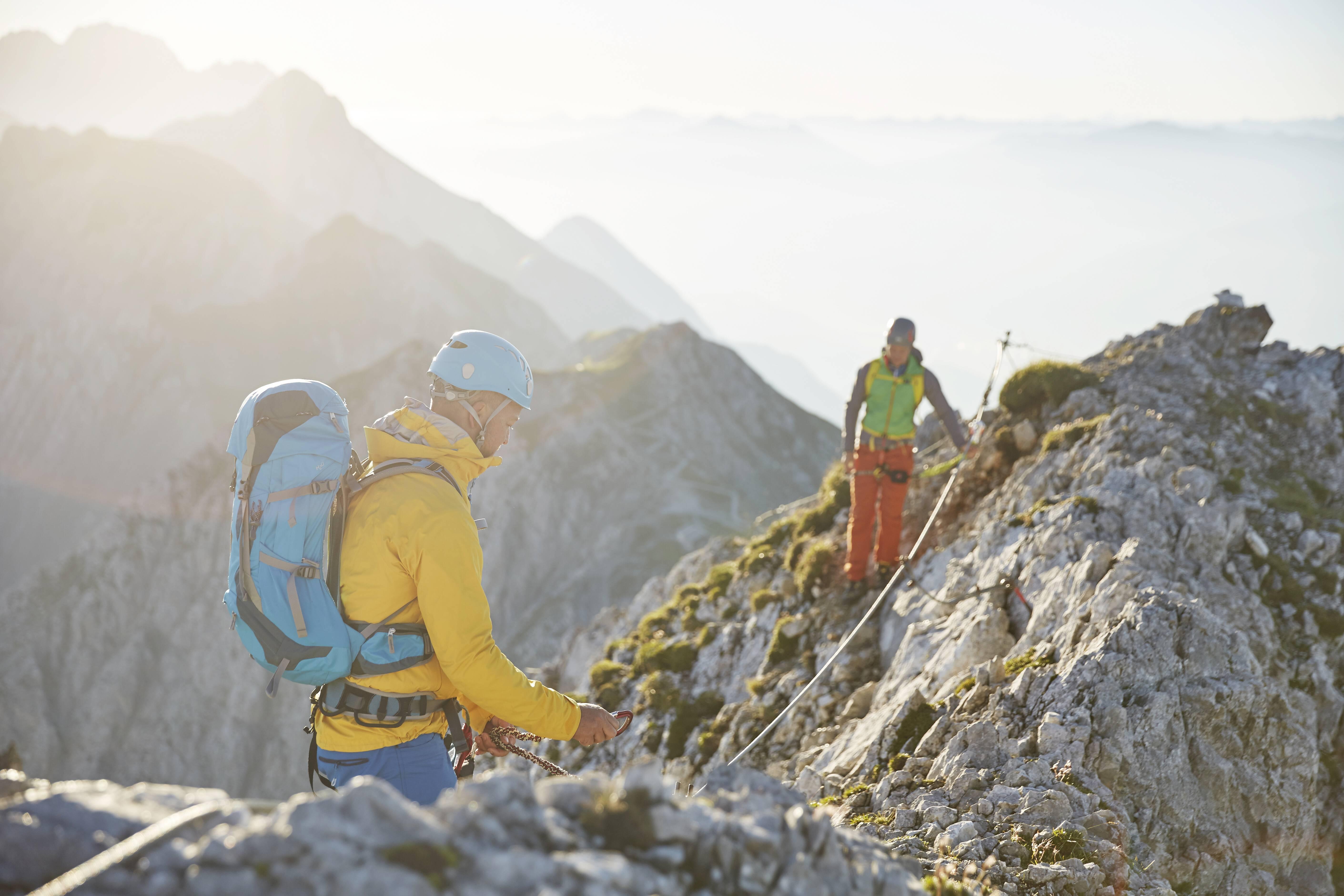 Klettersteigset Im Test : Test petzl klettersteigset scorpio vertigo kinderoutdoor