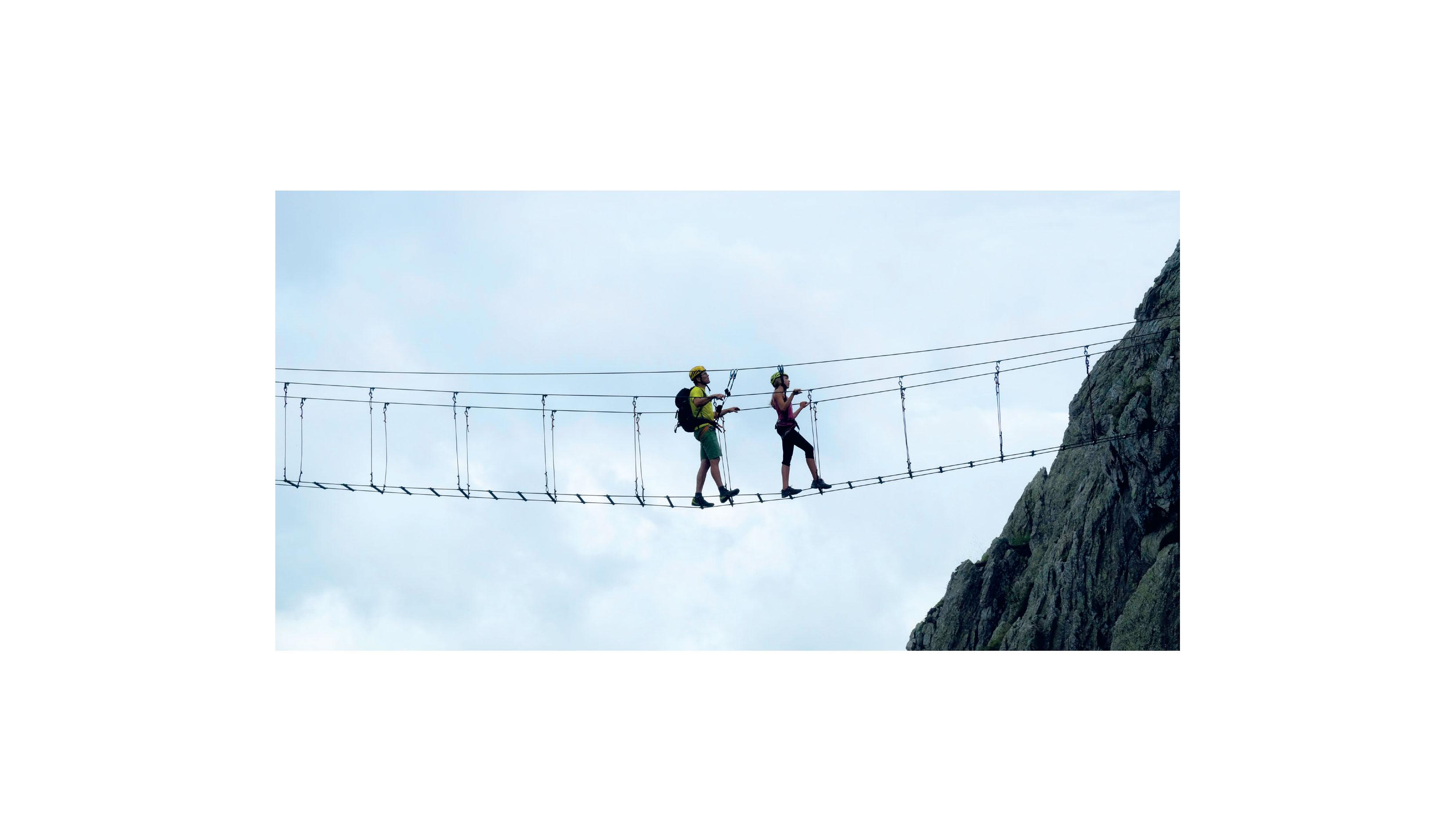 Klettersteigset One Touch : Neue klettersteigsets in der Übersicht