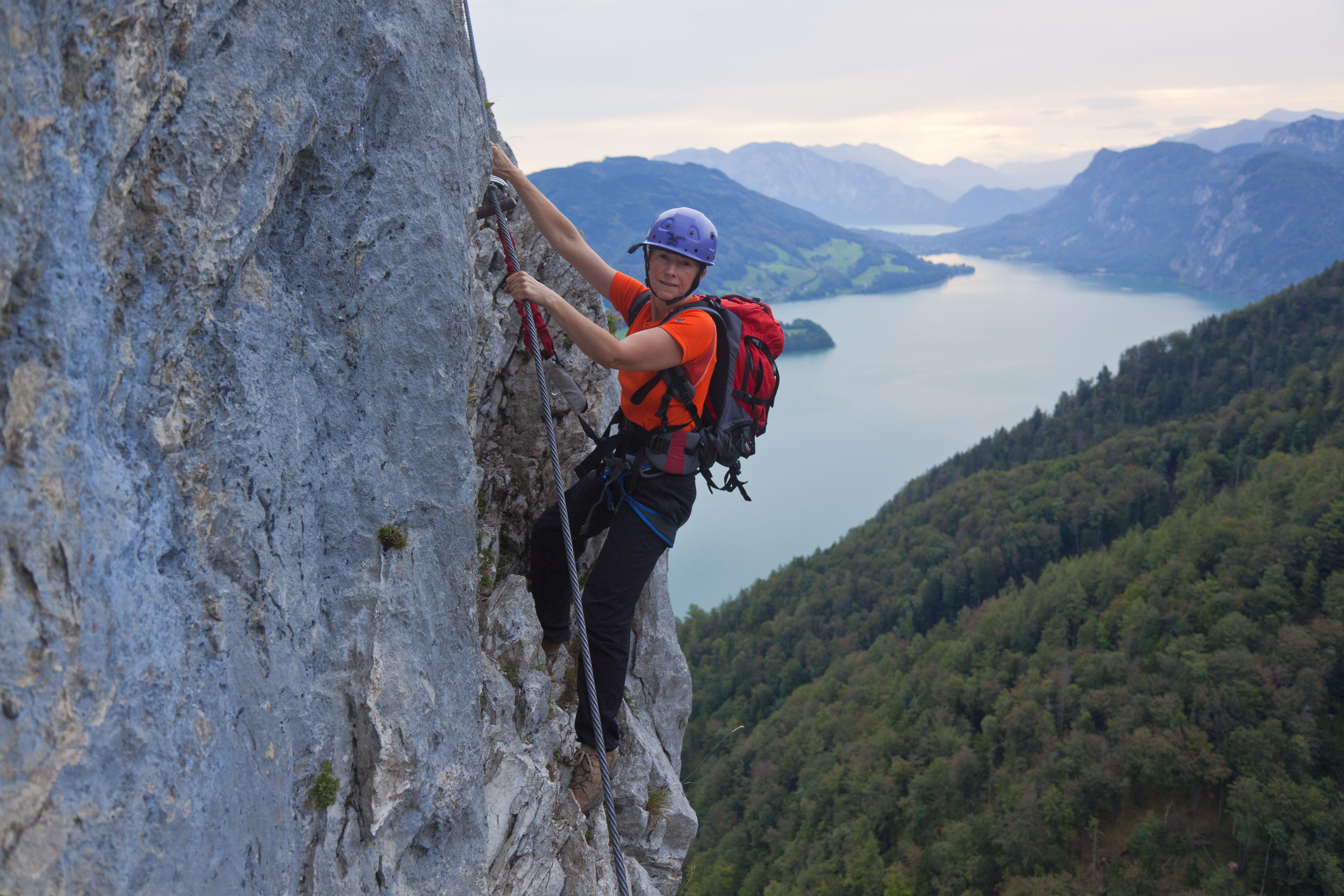 Klettergurt Für 4 Jährige : 10 regeln für klettersteiggeher