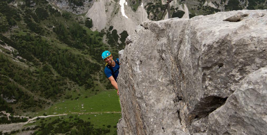 Klettersteigset Testsieger 2018 : Tajakante klettersteig: luftige tour über ehrwald