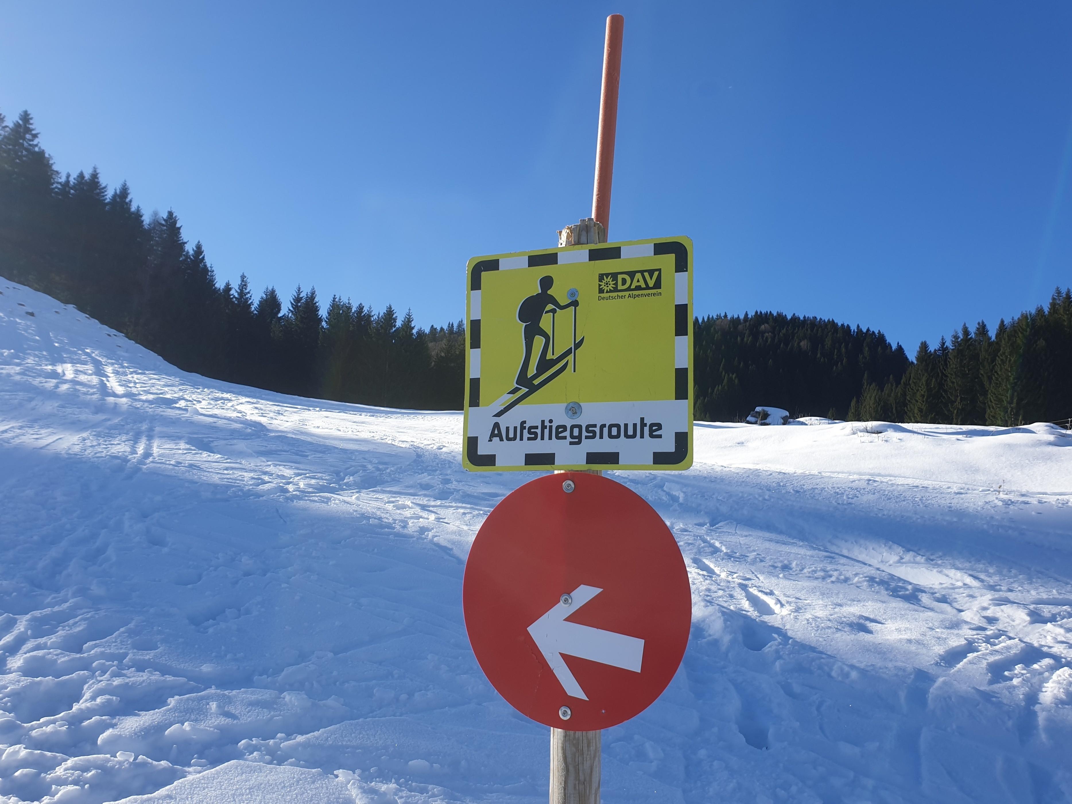 schneehöhe tegelberg