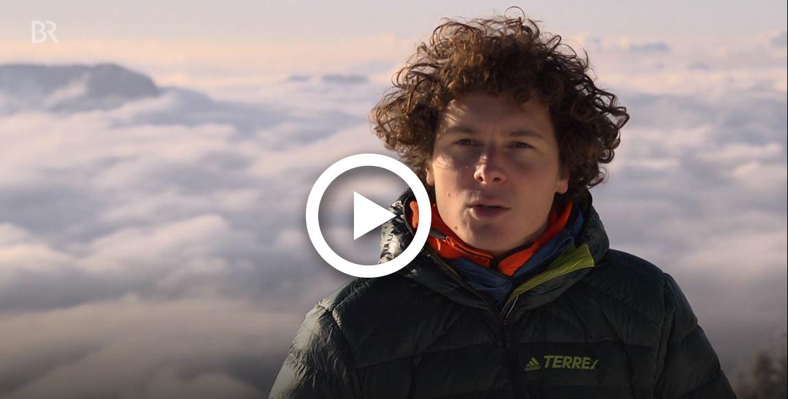 Vom Boulderer zum Bergsteiger: Online-TV-Tipp: Fabian Buhl im Bergauf-Bergab-Porträt