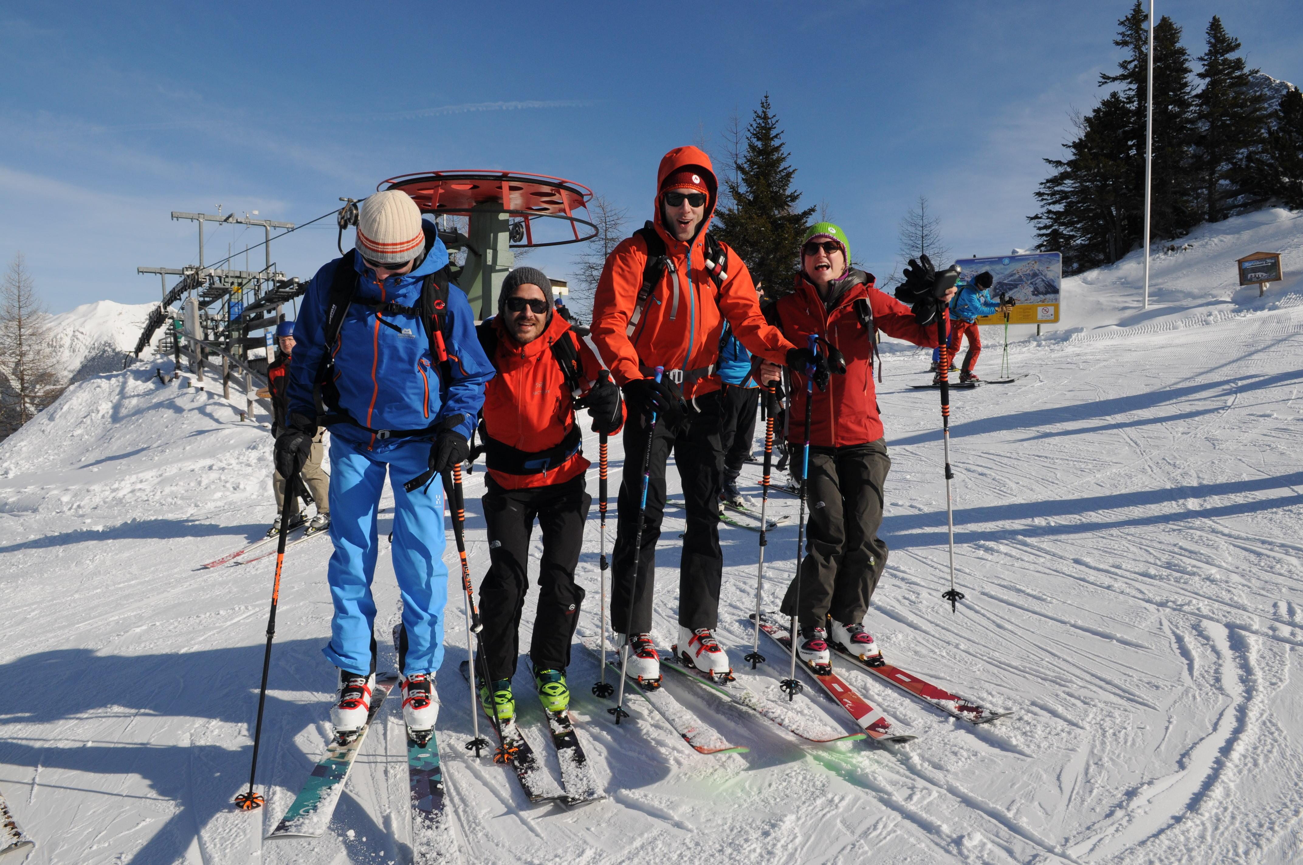Garmisch Partenkirchen Kletterausrüstung Verleih : Wo kann ich tourenski vor dem kauf auf der piste testen?