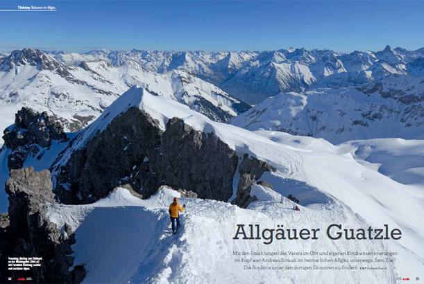 Skitouren im Allg�u