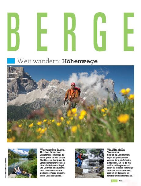 BERGE-Titelthema: H�henwege