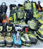 ALPIN 08/2014: Produkttest - Steigeisenfeste Bergschuhe