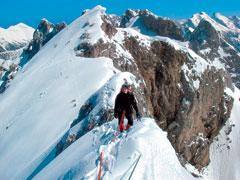 Klettersteig Mittenwald : Mittenwalder höhenweg im winter klettersteig tourentipps